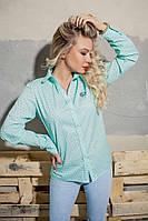 Женская рубашка на пуговичках