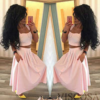 Стильный женский  костюм  блузка + юбка