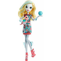 Lagoona Blue Doll with Turtle Кукла Монстер Хай Лагуна Блю с черепашкой