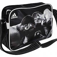 Лакированная сумка Adidas с изображением боксеров