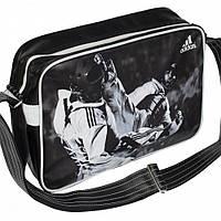 Лакированная сумка Adidas с изображением бойцов Taekwondo WTF
