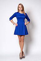 Яркое платье эллектрик, размер: 42,44,46