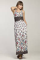 Макси-платье с карманами от ТМ Magnolica, Латвия.