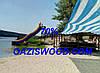 Сетка рулон затеняющая бело-голубая рулон 4м 70% Венгрия