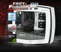 Компьютер для игр FF Matte i7-6700k 4.0GHz/ 32GB /8GB GTX 1080/ SSD 120GB/ 1TB/ 850W