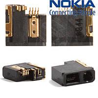 Коннектор зарядки для Nokia 2720f, оригинал