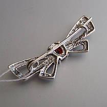 Серебряная брошь Бабочка, фото 3