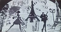 """Полотенце махровое тм """"Речицкий текстиль"""" 81*160 Мечты о Париже"""