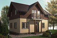 Каркасний будинок Проект 3 (90 М²)