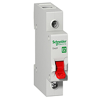 Выключатель нагрузки Schneider Electric Easy9, 63A, 1P, 5 kA