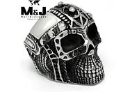 Кольцо мужское из стали.Шлем рыцаря 17р 18р, фото 1