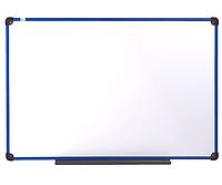 Доска магнитно-маркерная в пластиковой раме BLUE 90х120см