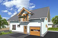 Каркасний будинок Проект 13 (160 М²)
