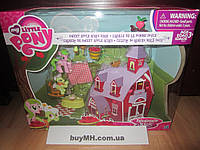 Дом бабули Смит My Little Pony Friendship is Magic Collection Sweet Apple Acres Barn Pack, фото 1