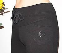 Женские Штаны 016 спорт стиль.Брюки оригинальный крой,шнурок,кармашек,камушки.