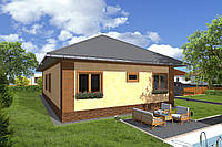 Каркасний будинок Проект 14 (135 М²)