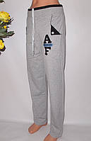 Штани жіночі 401.Штани з щільного трикотажу,Турецьке якість,шнурок,дві кишені., фото 1