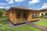 Каркасний будинок Проект 15 (85 М²)
