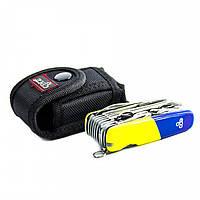 Нож швейцарский Ego tools A01.18 сине-желтый, фото 1