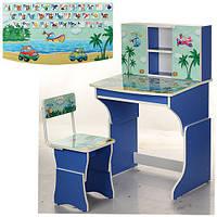 Детская Парта Растишка МV-903-3-2 Кораблики (синий)