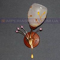 Декоративное бра, светильник настенный IMPERIA одноламповое LUX-436361