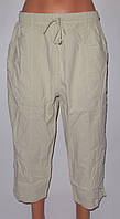 Бриджи женские Турция ЖАТКА норма,два кармана,шнурок,котон100% M50-L52-XL54-XXL56-XXXL58, фото 1