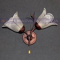 Декоративное бра, светильник настенный IMPERIA двухламповое LUX-460363