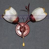 Декоративное бра, светильник настенный IMPERIA двухламповое LUX-460361