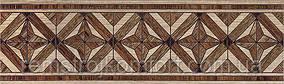 Плитка InterCerama MASSIMA бордюр напольный коричневый
