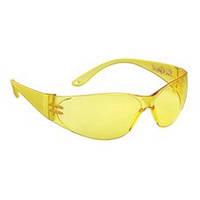 Очки  защитные пластиковые желтые