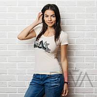 Оригинальная футболка женская E13milk