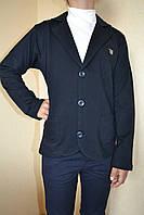 Пиджак черный на мальчика школа 110-158