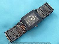Часы Rado Jubile 114242 черные женские прямоугольные темная сталь