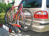 Платформа на фаркоп для перевозки 3-х велосипедов