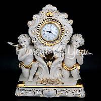 Часы настольные «Ангелы» Sabadin, 30,5х15,5х29,5 см.
