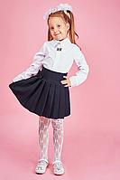 Школьная юбка для девочки №110 (черный)