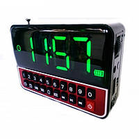 Часы акумуляторные с USB WS-1513 с USB