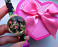 Часы женские в цветочек