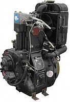 Двигатель дизельный DLH1105 на минитрактор с электростартером