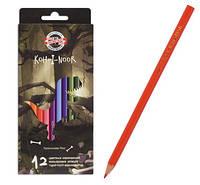 Цветные карандаши Dino KOH-I-NOOR 12цв