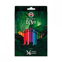 Цветные карандаши Dino KOH-I-NOOR 36цв