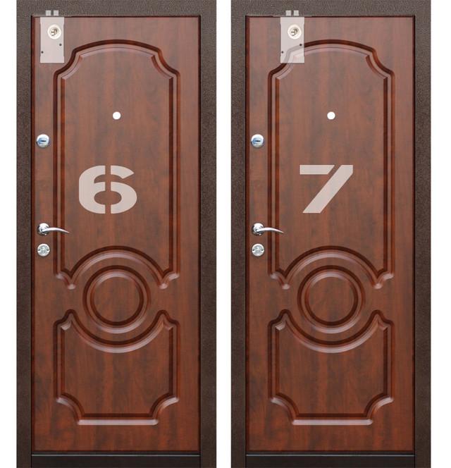 Варианты установки в верхний торец двери