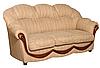 """Трехместный раскладной кожаный диван """"Мальта"""" (200см), фото 2"""