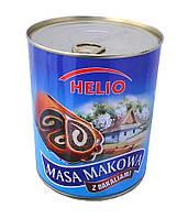 Маковая масса для выпечки Helio с изюмом и орешками, 900 г