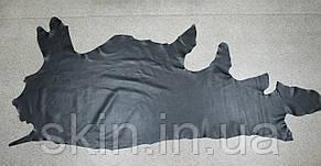 Натуральная кожа для кожгалантереи и обуви черная, толщина 1.4 мм, арт. СК 1037, фото 2