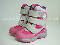 Термо ботинки, сапоги B&G. Размеры 22, 23, 24, 25.