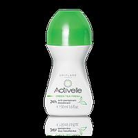ACTIVELLE Шариковый дезодорант-антиперспирант 24-часового действия с экстрактом зеленого чая «Активэль»
