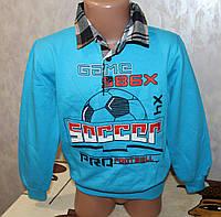 Рубашка-обманка на мальчика 5,6,7,8 лет