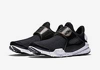 Мужские кроссовки Nike Sock Dart Black And White, фото 1