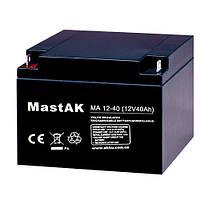 Аккумулятор MA12-40 MastAK 12V40Ah